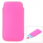 Protective PU Leather Case for Samsung i9295 - Deep Pink