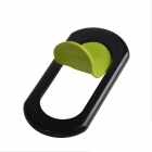Portable Universal Stand Holder Support for iPhone / Samsung / HTC / More - Black + Green