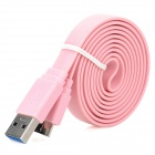 Micro-B USB 3.0 Data Charging Cable for Samsung Galaxy Note 3 - Pink (1m)