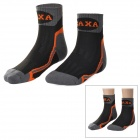 CAXA Professional Outdoor Antibacterial Quick Dry Sock - Grey + Black