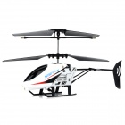 JIA QI TT1005B Rechargeable 2-Channel R/C Helicopter w/ Remote Controller - White + Black