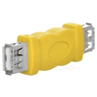 USB Cable Coupler Extension Connector - Yellow
