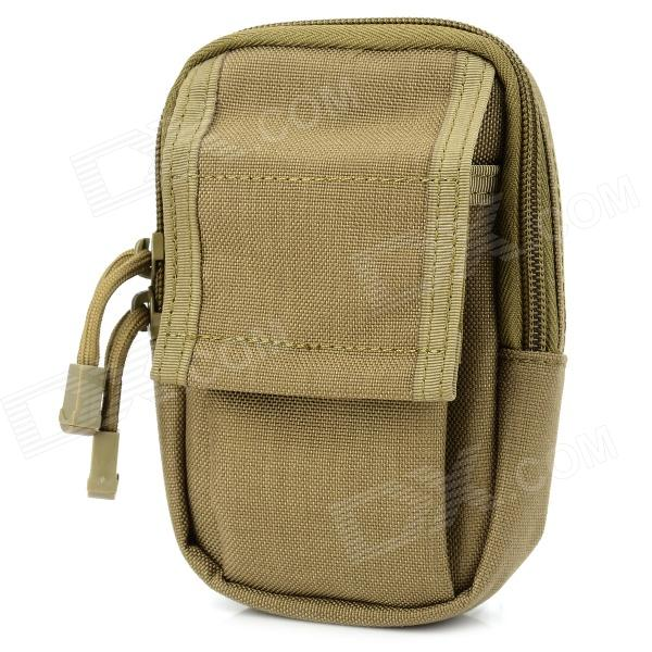 THUNDER EDC Multifunctional Durable Cellphone Tactic Waist Bag - Coyote Brown