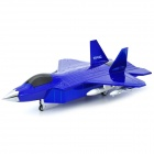 Fighter Plane Style HY-F22 Media Player Speaker w/ FM / TF - Blue + Black + Silver