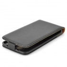 Protective Top Flip Open Case for LG G2 - Black