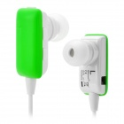 ROMAN S301 Bluetooth v2.1+ EDR A2DP Earphone Headset w/ Microphone - Green + White