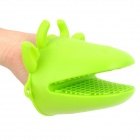 ALOCS AC-C01 Cute Cow Head Style Silicone Oven Glove - Green