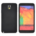 Protective Silicone Back Case for Samsung N9000 / N9002 / N9005 - Black