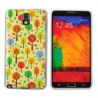 Birds Pattern Protective PVC Back Case for Samsung Galaxy Note 3 N9000 / N9002 + More - Multicolored