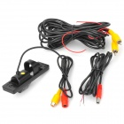"Yingyan EC-LED-CCD001 Waterproof 1/4"" CCD 520 Lines Wide Angle Wired Car Rearview Camera - Black"