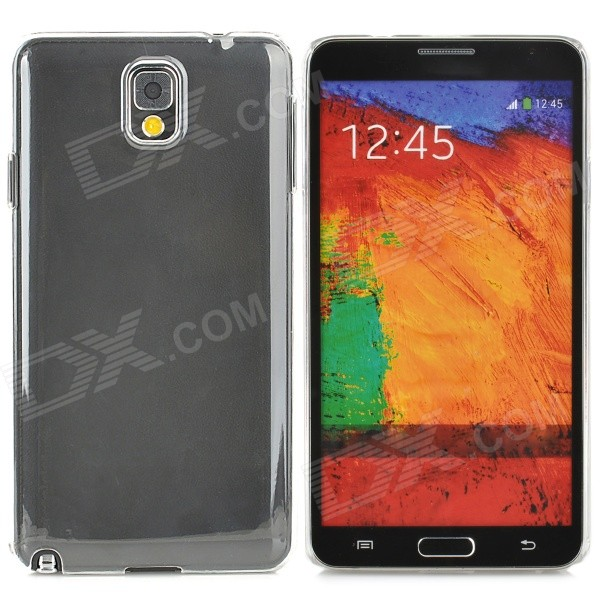 Protective ABS Back Case for Samsung Galaxy Note 3 N9005 / N9002 + More - Transparent