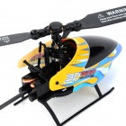 SH 6050 USB Rechargeable 6-Channel R/C Helicopter w/ Remote Controller - Yellow + Black + Bue