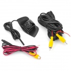 Yingyan EC-FSH2122 Waterproof CCD Wired Wide Angle 520 Lines Car Frontview câmera para Honda - Preto