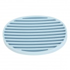 Nachuan Fashionable Durable Silicone Soap Dish Holder - Blue