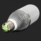ApolloFlower E27 10W 850LM 6500K White Light LED Corn Lamp - Silver + White (AC 110~250)