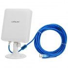LAFALINK LF-D510 Outdoor High Gain 150Mbps USB Wireless Adapter Network Card - White + Blue