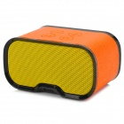 imarku Q72 Bluetooth v3.0 Stereo Bass 2-CH Speaker w/ Microphone - Orange + Yellow + Black