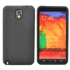 2-in-1 Protective Silicone + PC Back Case for Samsung Note 3 - Black