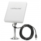 LAFALINK LF-D660 Outdoor High Gain 150Mbps USB Wireless Adapter Network Card - White + Black