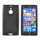 Protective TPU Back Case for Nokia Lumia 1520 - Black