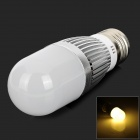YouOkLight E27 5W 480LM 3500K Warm White Light LED Corn Lamp - Silver + White (AC 110~250V)