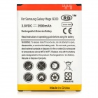 Replacement 3500mAh Rechargeable Li-ion Battery for Samsung Galaxy i9200 - White + Red + Yellow