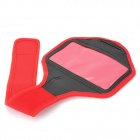 Sports de plein air protection Neoprene Armband pour LG NEXUS 5/E980 - rouge + noir
