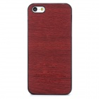 Protective PC Back Case for Iphone 5 / 5s - Dark Red