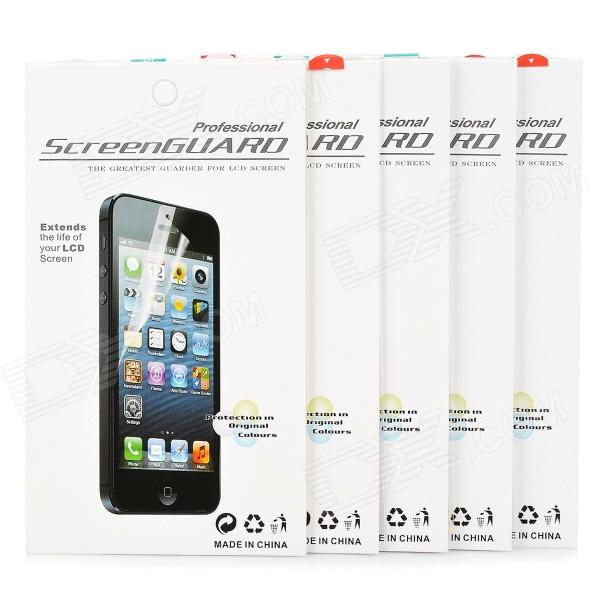 HD PET Protective Screen Protector for Sony S39h (Xperia C) - White (5 PCS)