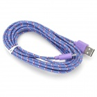 USB Male to Micro USB Male Data Charging Cable for LG Nexus 5 / E980 + More - Purple (300 cm)
