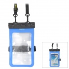 Tteoobl T-11C Protective PVC + ABS Waterproof Bag for 4.8~5.5'' Mobile Phone - Blue