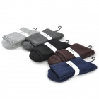 Men's Cozy Warm Cotton Socks - Multicolored (5 Pairs)