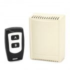 Buy SZTY17 2-Channel Wireless Remote Switch Water Resistant Controller - Black + Khaki