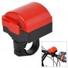 LED Electronic Bike Bell - Red + Black (2 x AAA)