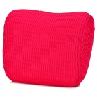 HQS-G106870 Memory Cotton Car Neck Cushion Pillow - Deep Pink