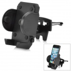 180 Degree Rotational Car Vent Mount Holder for Iphone / GPS - Black