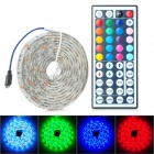 Waterproof 24W 400lm 120-SMD 5050 LED RGB Car Decoration Light Strip (12V / 2m)
