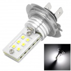 QCD-10 H7 6500K 6W 300lm 12-SMD 3535-Auto, Bremsleuchte (DC 12 ~ 24V)