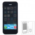 USAMS IP5SFK02 Protective PU Leather + PC Case for Iphone 5 / 5S - White