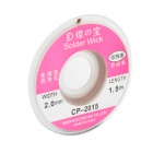 ZW 2015 2.0mm Copper Desoldering Wire - Coppery