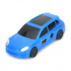 Portable Mini Car Style MP3 Player w/ Mini USB / TF Card Slot - Blue + Black