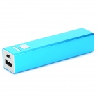 FF04 Universal-Compact 2600mAh Lithium-Ionen-Power-Bank für Samsung / iPhone + More - Blau
