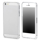 Durable Super Thin Aluminum Alloy Bumper Frame Case for Iphone 5 / 5s - Silver