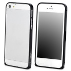 Durable Super Thin Aluminum Alloy Bumper Frame Case for Iphone 5 / 5s - Black