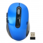VMW-10 2.4GHz Wireless USB 800 / 1200 / 1600dpi Optical Mouse - Black + Blue