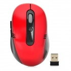 VMW-01 2.4GHz Wireless USB 2.0 800 / 1200 / 1600dpi Optical Mouse - Red + Black