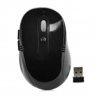 VMW-01 2.4GHz Wireless USB 800 / 1200 / 1600dpi Optical Mouse - Black