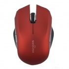 HUIJIAN - 501 2.4GHz Wireless Optical Mouse w/ USB Receiver - Red + Black (1 x AAA)