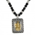 TGFZ-1 Black Onyx Necklace Sweater Chain