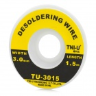 TNI-U 3015 3.0mm Copper Desoldering Wire - Golden